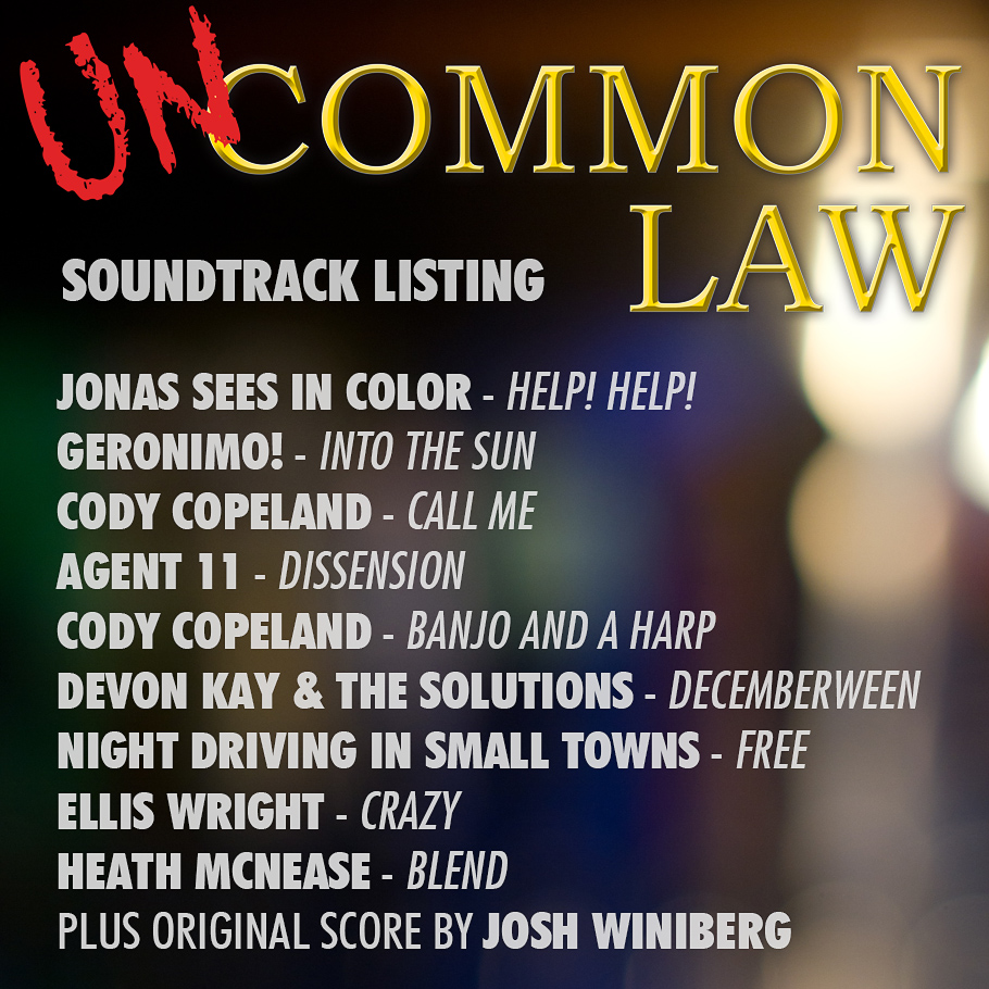 Uncommon Law Soundtrack Listing (web)